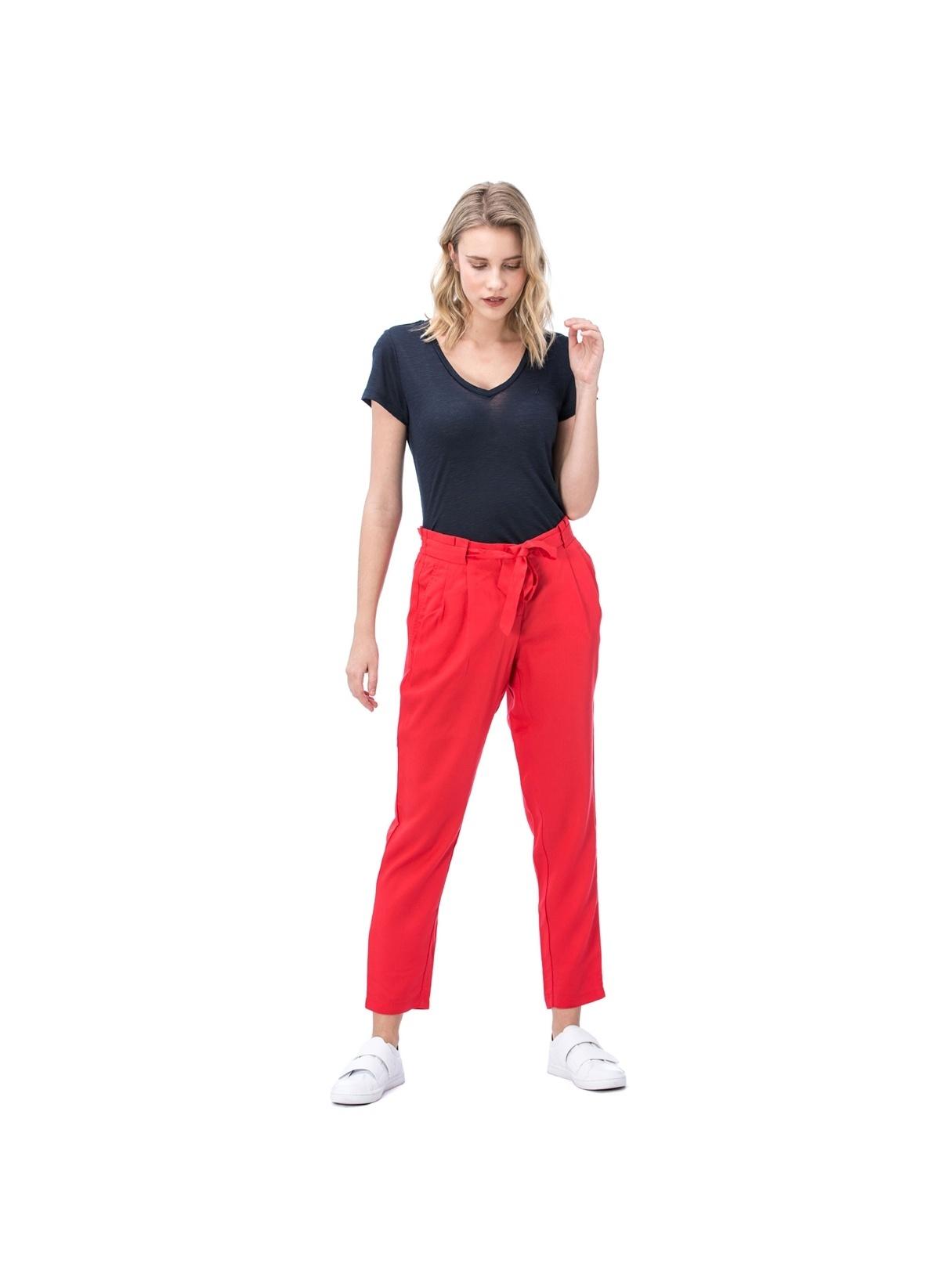 Nautica Pantolon 81p334t Nautica Kadin Kırmızı Havuç Pant – 399.0 TL